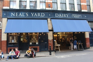 Visita al negocio de Neal's Yard en Londres